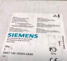 NEW SIEMENS 3SE7-140-1BD00-0AS0 EMERGENCY STOP PULL WIRE 3SE71401BD000AS0