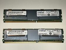16GB (2x8GB) Crucial Memory, DDR2 PC2-5300, 240-pin DIMM