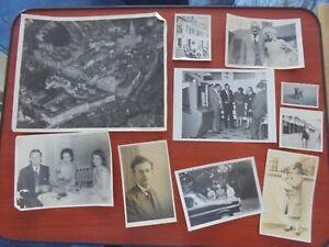 Job Lot of Vintage Black & White Photographs (cf4)