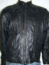HARLEY DAVIDSON FXRG WATER RESISTANT LEATHER BLACK JACKET 97184-01VM SIZE LARGE