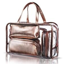 Niceebag 5 In 1 Cosmetic Bag Case Portable Carry On Travel Toiletry Bag Clear