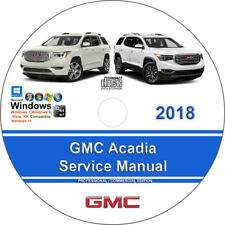 New ListingGmc Acadia 2018 Factory Workshop Service Repair Manual