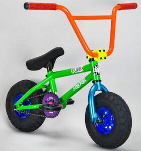 Rocker Funk IROK+ Mini BMX Bicycle Bike 1 Piece Crank Fat Tyre NEW