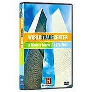 WORLD TRADE CENTER: MODERN MARVEL 1973-2001 - DVD - Region 1 - Sealed