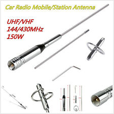 NL-770S Dual Band UHF/VHF 144/430MHz 150W Car Radio Mobile/Station Antenna Kit