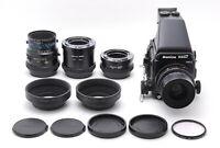 【MINT+++】Mamiya RZ67 Pro II  Z 90mm f/3.5 M 140mm F/4.5 M/L-A Lens From JAPAN