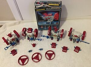Vintage Mego Micronauts Microtron Lot Series 1 - 1976 With Box & Extra Parts