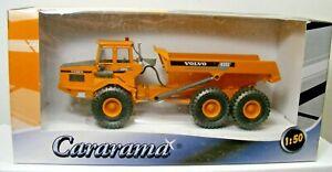VOLVO A25C Articulated Dump Truck In Box 2004 Die-Cast 1:50 Scale