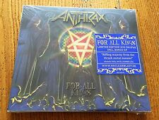 ANTHRAX For all Kings - Limited Edition 2CD Digipak Incl. Bonus-EP - CD