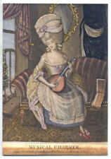 The Musical Charmer, Mezzotint, 1781 - Greetings Card