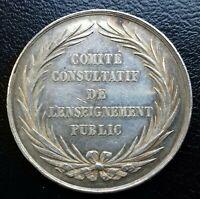 Médaille Argent Enseignement Public Ministere