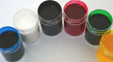 6x15ml Water Based Glass Paints Set Stained Window Transparent Crafts Arts Hobby
