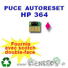 RECHARGEABLE Puce Auto-Reset Magenta  HP 364