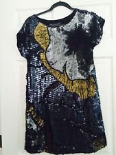 Stunning French Connection Sequin Dress SZ 2