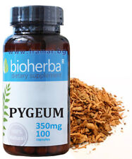 Pygeum 350 mg,100 caps. 100% natural product ,Men's Health Prostate Function