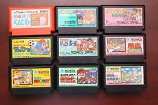 Famicom Nekketsu Kouha Kunio Kun Collection Japan 9 FC game lots US Seller
