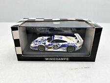1:43... Minichamps -- Porsche 911 gt1 le mans 1996 teatro/Boutsen/wollek/4 B 807