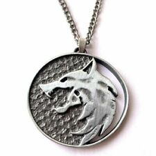 The Witcher Inspired Wolf Pendant Medallion - Perfect for Themed Parties and...