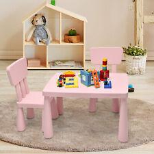 3 tlg. Kindersitzgruppe Kindertisch Kindermöbel Kinderstuhl & Tisch Kinderzimmer