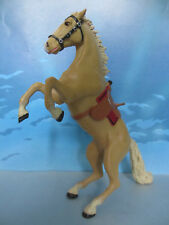 FIGURINE COLLECTION PLASTOY CHEVALIER CHEVAL CHATEAU