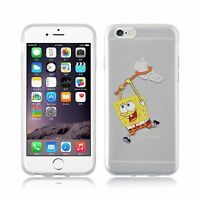 Coque/Étui Apple iPhone 5 5s SE 5C 6 7 Plus + Protecteur d'écran / Gel Spongebob
