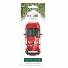ScentSicles Scented Autosticks White Winter Fir Christmas Car Air Freshener