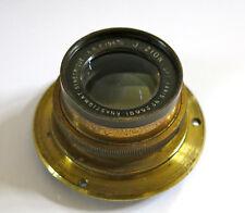 OBJECTIF J ZION,objectif ancien 195 mm, objectif J Zion, chambre photographique