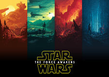 Star Wars Movie Art Large Poster Print - A0 A1 A2 A3 A4 Sizes