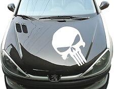 1x The Punisher Skull Sticker CAR Rear window Tuning Bonnet