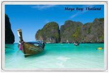 MAYA BAY  THAILAND BEACH SCENE - JUMBO FRIDGE MAGNET - THAI Koh Phi Phi