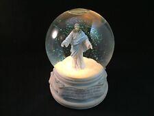 Vintage 1995 Lighted & Musical Jesus Christ Snow Globe Religious Christianity