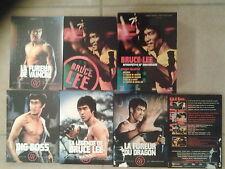 15020//LA LÉGENDE DE BRUCE LEE /RÉTROSPECTIVE 30 ANNIVERSAIRE COFFRET 5 DVD