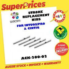 WACOM ACK-20002 200-02 5 GREY SPRING STROKE PEN NIBS CINTIQ INTUOS4 INTUOS5 PRO