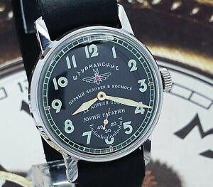 Watch Sturmanskie Soviet Vintage Mechanical WristWatch 2602 Yuri Gagarin USSR