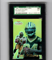 1999 Topps Gold Label Class 3 Ricky Williams Rookie Card! SGC 96 MINT! SAINTS RB