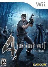 Nintendo Wii : Resident Evil 4 VideoGames