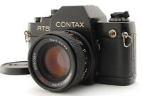 【EXC++++】CONTAX RTS II Carl Zeiss Planar 50mm F/1.4 T* MMJ From JAPAN