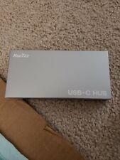 HooToo USB C Hub Adapter Type C Hub with 3 USB 3.0 Ports and Card Reader