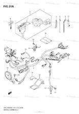 SUZUKI OEM LOCKSET- IGNITION SWITCH/SEAT LOCK/GAS CAP-DRZ400S 11-19 -37000-29821
