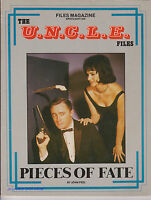 MAN FROM UNCLE FILES MAGAZINE GUIDE TO SEASON 3 MANY PHOTOS 1986 ROBERT VAUGHN