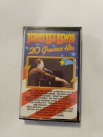 Jerry Lee Lewis 20 Greatest Hits Cassette Tape
