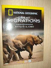 DVD N°4 NATIONAL GEOGRAPHIC GREAT MIGRATIONS VIVRE SEULEMENT CHI SI DÉPLACE LE