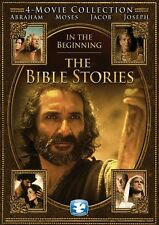 THE BIBLE STORIES IN THE BEGINNING New 4 DVD 4 Films Ben Kingsley Richard Harris