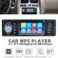 "4.1"" LCD Pantalla Coche Bluetooth Audio Vídeo Reproductor MP5 FM Radio 1DIN"