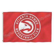 Atlanta Hawks Flag 3X5 Banner Logo NBA American Basketball FAST FREE Shipping