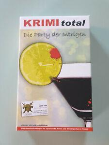 Krimi total - Die Party der Intrigen - Krimidinner 8-9 Personen**Gebraucht