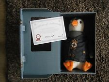 Wilbur the Explorer ~ Penguin Soft Toy ~ British Gas ~ NEW with COA Certificate