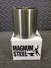 Magnum Steel 10oz Stainless Steel Double Walled Vacuum Tumbler