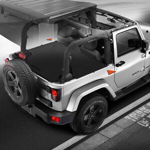 GPCA Jeep Wrangler 2-Dr. JK Trunk Cargo Cover for 2007- 2018
