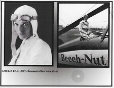 Amelia Earhart - Vintage Owned & Worn Blouse Swatch Remnant COA Aviation Legend
